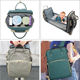 Baby Bag Baby Bag 2020 New Product Multipurpose Custom Luxury Changing Bed Mummy Baby Diaper Bag