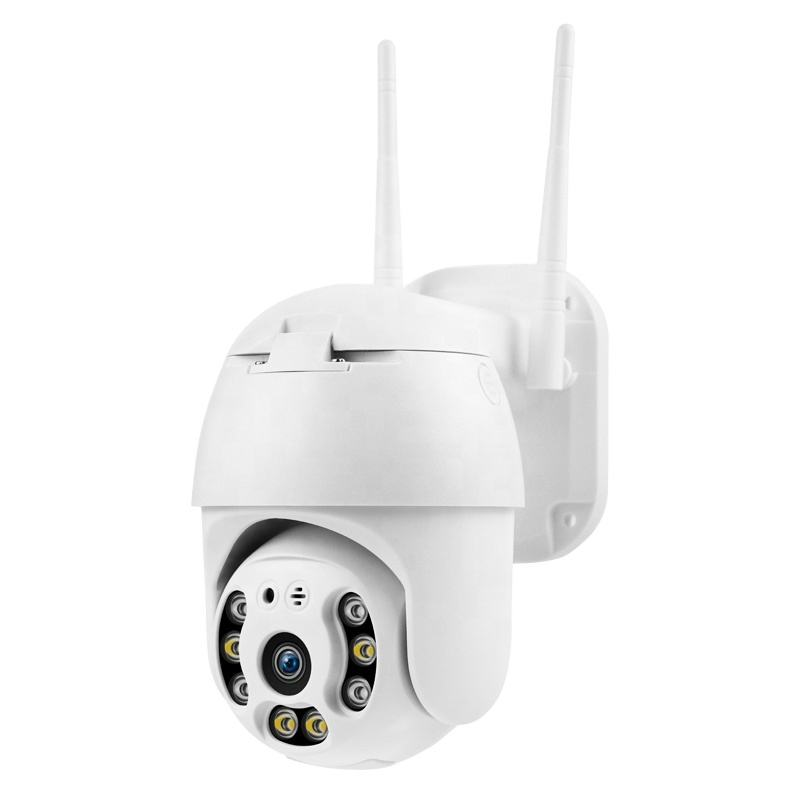 1080P PTZ IP Camera Outdoor 4X Digital Zoom Speed Dome WiFi Camera 3MP Audio AI Human Detection Super Mini Home Security Camera