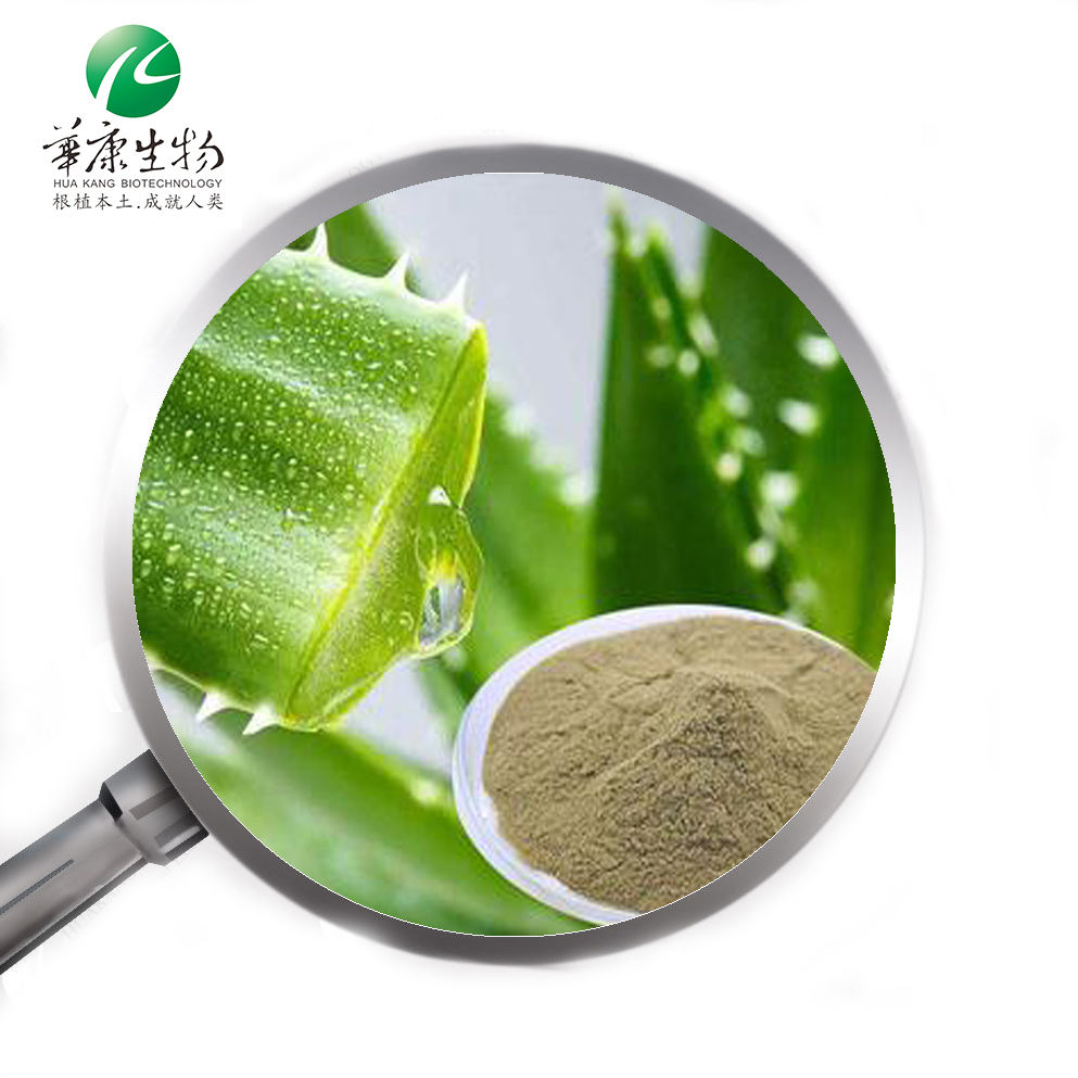 ISO Aloe vera barbadensis leaf gel extract powder 100:1 200:1 98%