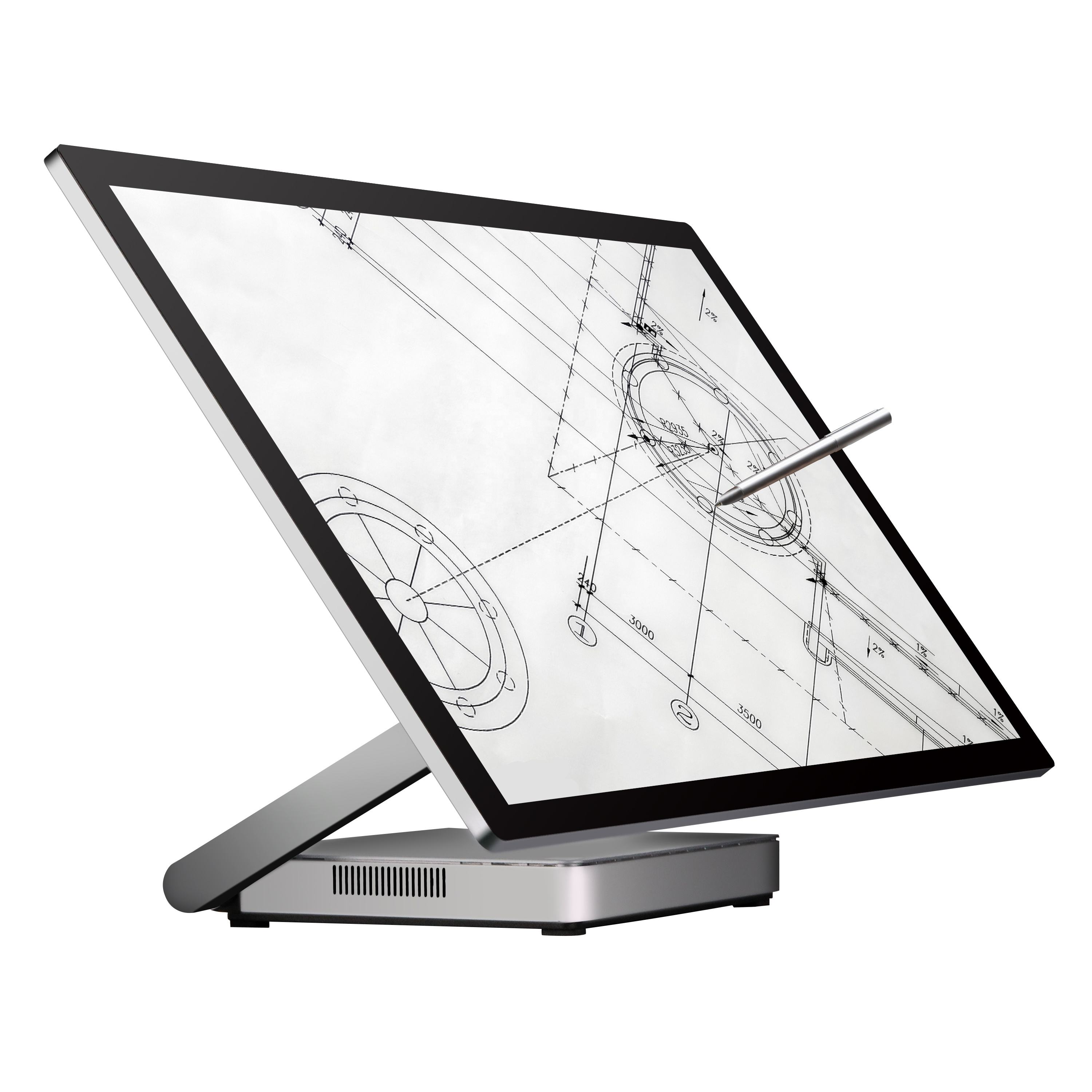 "High-end-computer hardware 23.8 ""aio pc monoblock touch computer i5 i7"