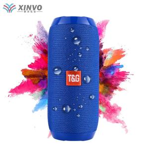 2020 Mini Portable Wireless t&g 117 Speaker Waterproof Outdoor Bluetooths Mobile Music Tg 117 Speaker With Fm Radio