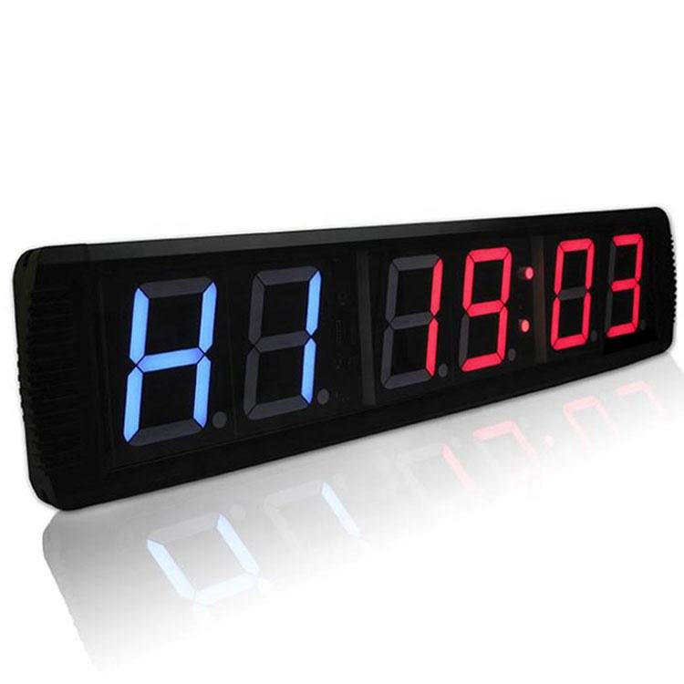 OKPRO Boksen Timer Cross LED Screen Echo Gym Timer
