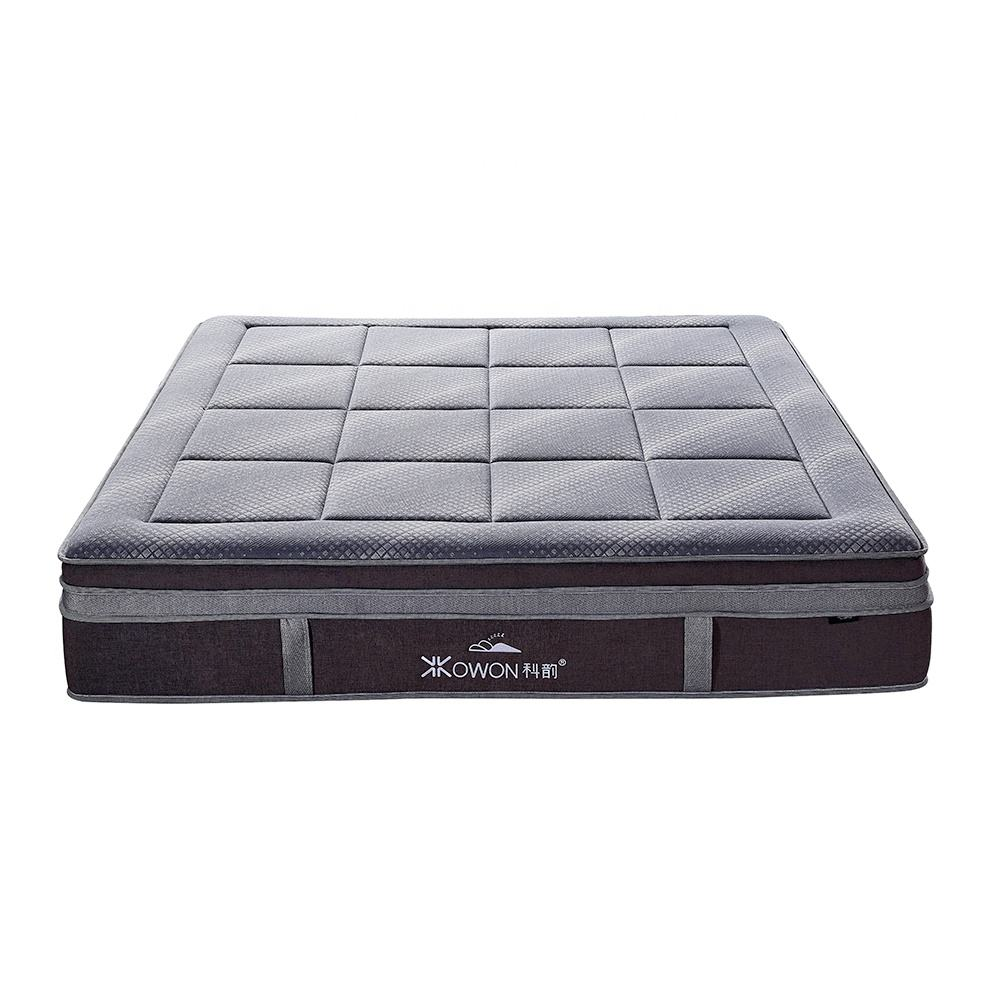 High Density Royal Luxury Memory Foam Bonnel Spring Mattress