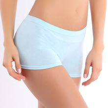 Women's Seamless Boxer Briefs Soft Comfortable Sexy Hot Panty Underwear Breathable Women's Shorts Panties