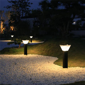 BSPRO Wholesale Price IP65 Waterproof Outdoor Garden Pathway Solar Landscape Light