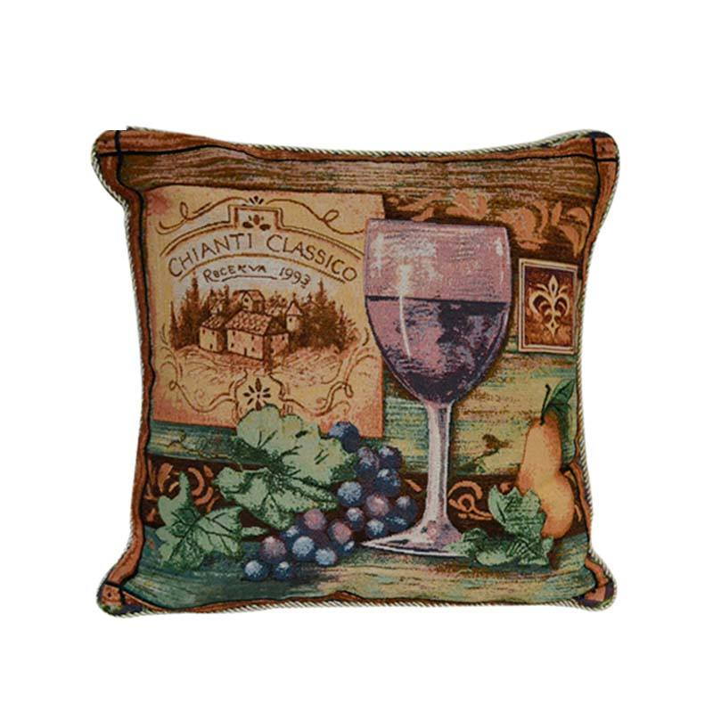 Professional most popular tapestry pillow and wholesale vintage cushion cover