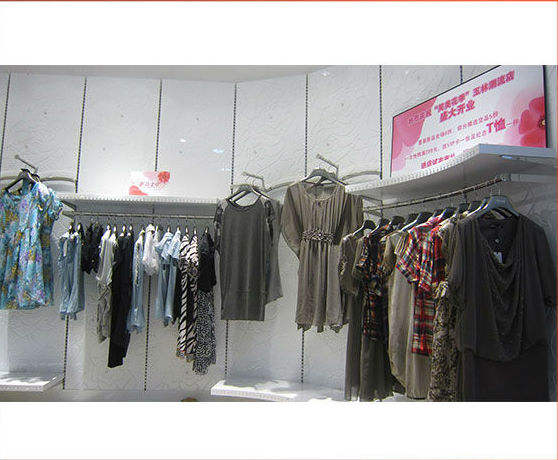 high end menwear sport clothing retail shop fitting