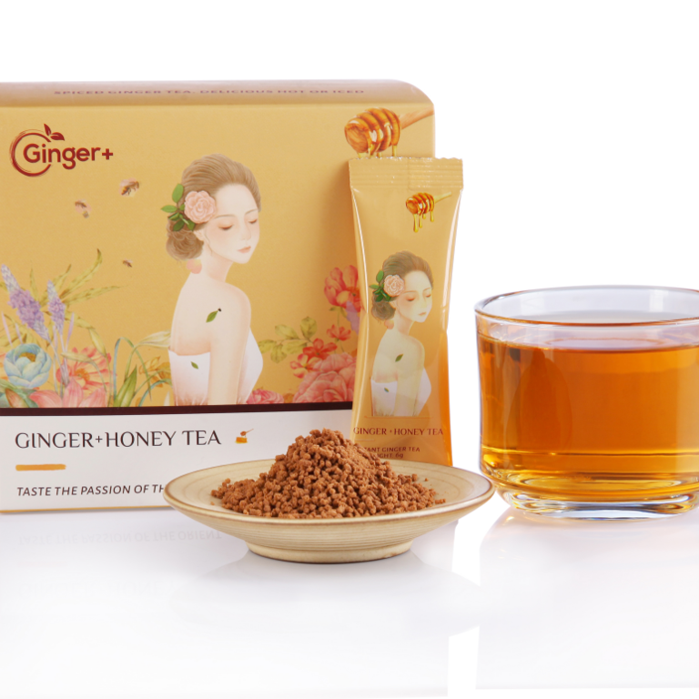 Natural Organic Powdered Ginger Root Honey Ginger Tea Relieve Menstrual Problems