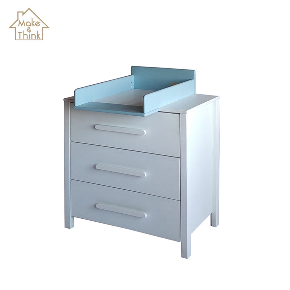 Best price baby kids solid wood changing table station