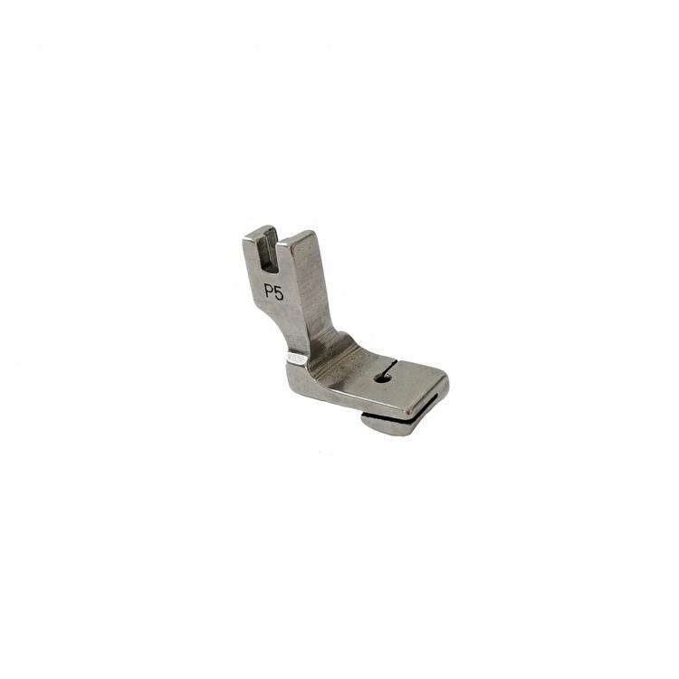 P5 china cheap prices sewing attachment apparel machine parts steel material presser foot for sewing machine