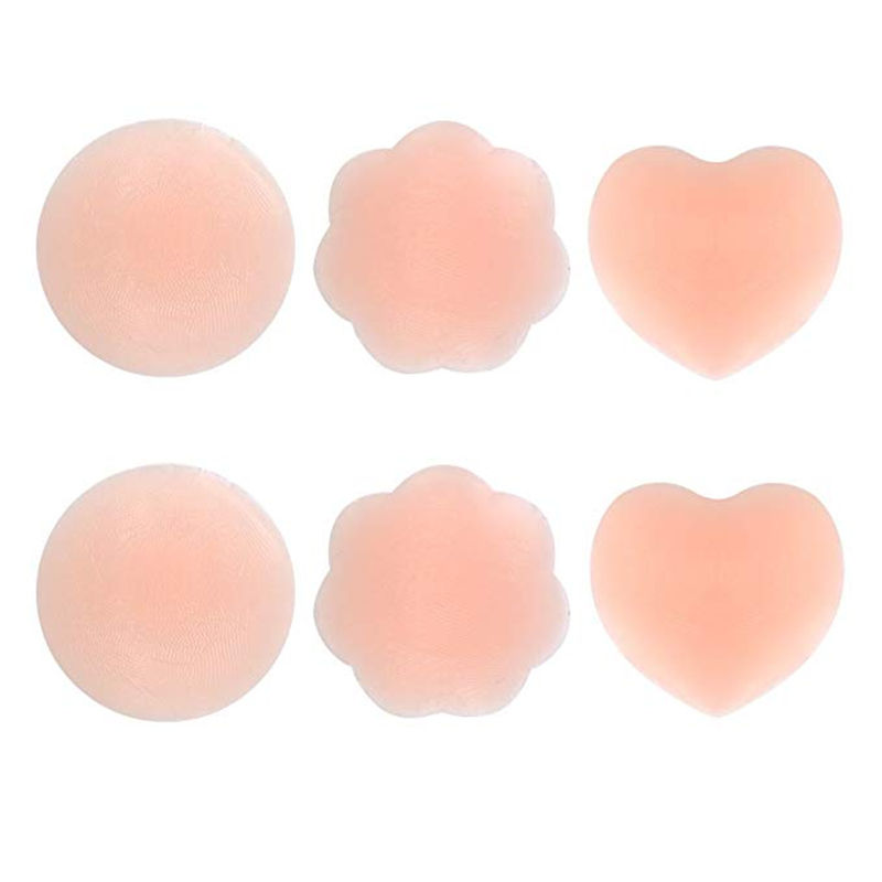 Bra accessories girls fashion self-adhesive reusable nipple cover