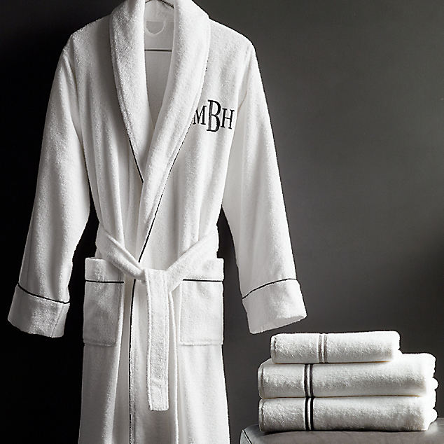 High Quality Hotel Terry Cloth Bathrobes 100% Egyptian Cotton Men and Women Bath Robe