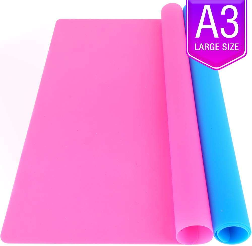 Amazon Hot A3 Extra Large Silicone Sheet for Crafts Jewelry Casting Molds Mat Waterproof Nonstick Heat-Resistant,RAMD0068