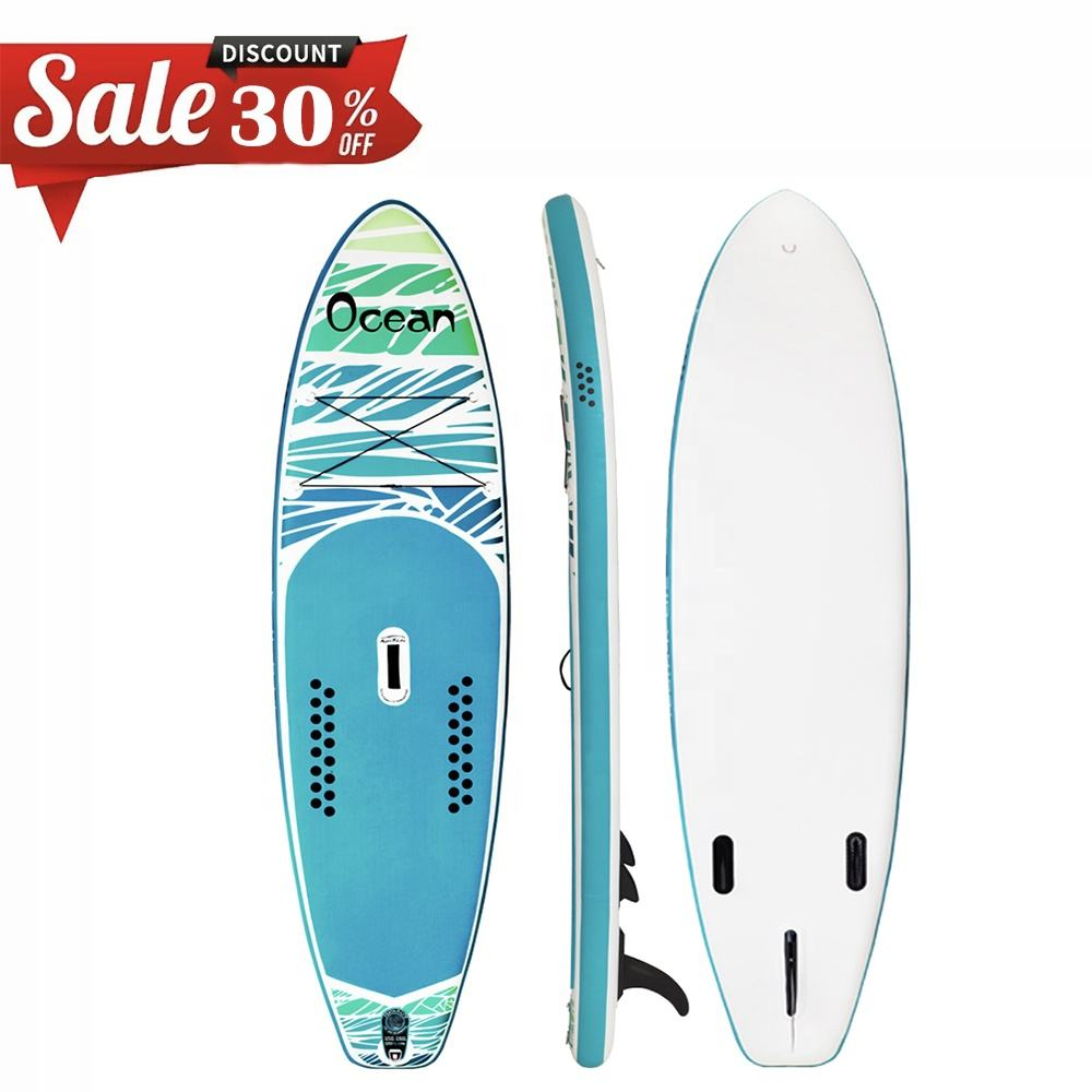 Sup inflatable board surfboard surfing paddleboard inflatable wake board