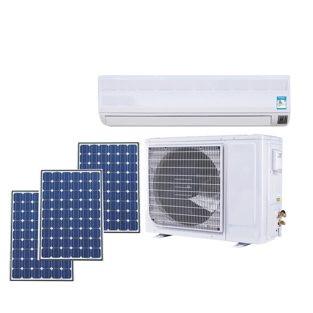 Hybrid wall split solar air conditioner