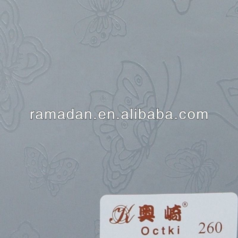 Decorative static cling decorative window film