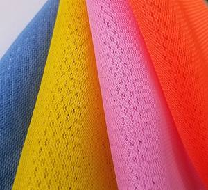 China Suppliers 2019 Sportswear Cheap Polyester 3d air Mesh Fabric