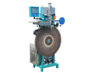 Fully Automatic feeding solder brushing flux rotate saw blade segment brazing welding machine