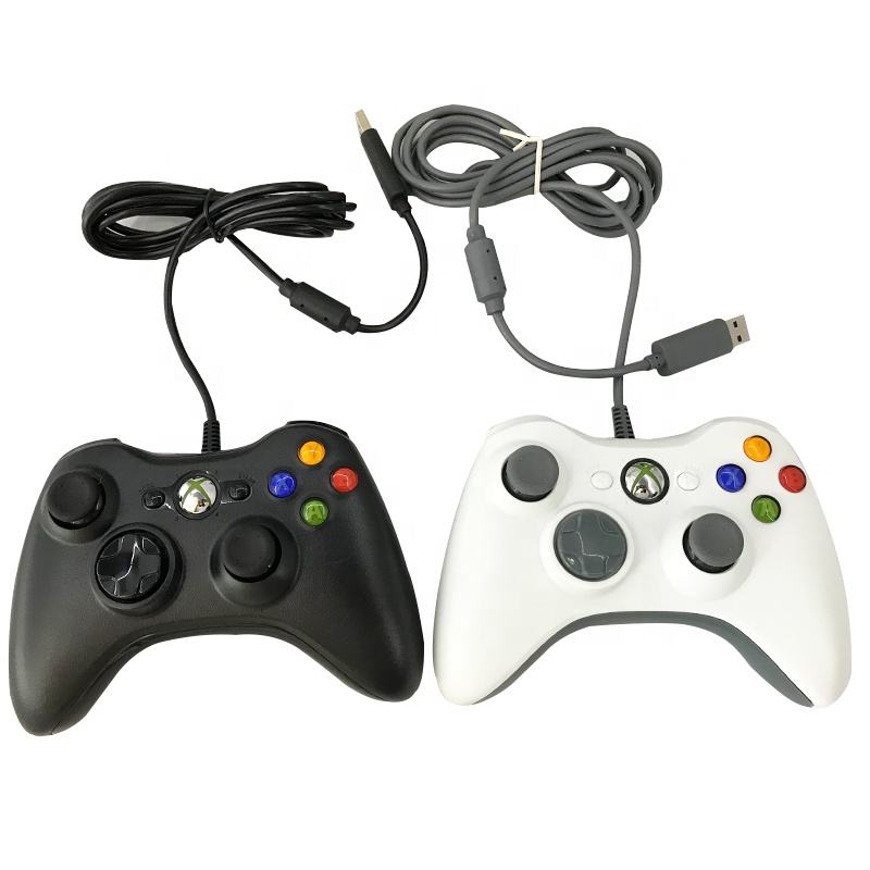 usb wired analog game joystick gamead control console pc 360 x box one controller