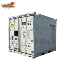 DNV Standard Fish Meat Vegetables Transportation 10ft Offshore Reefer Container