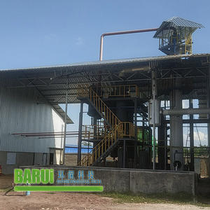 Henan Barui equipment continuous distillation process pyrolysis oil to diesel