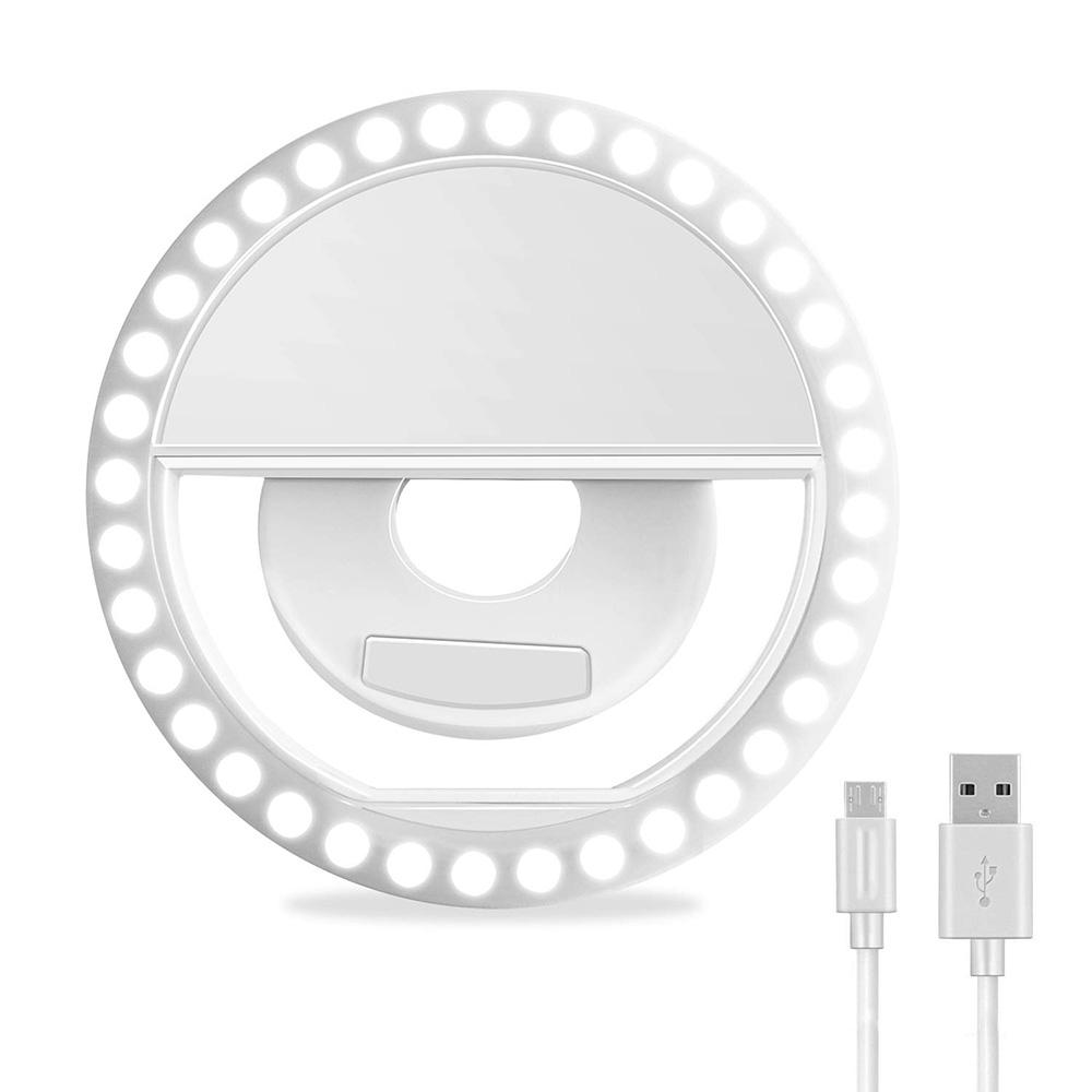 Rechargeable LED Ring Light for Cell Phone selfie ring light selfie LED lights for phone