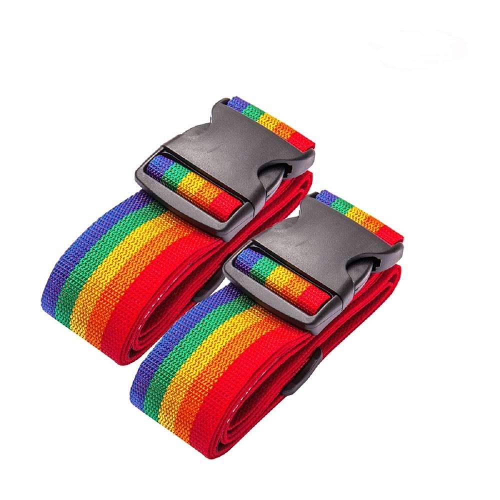 Wholesale Price Travel Houseware Accessories Bag Straps 2 PCS Luggage Belt Strap Tag Luggage