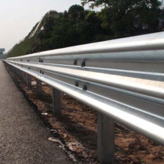 Galvanized Road Fence Security Crash Barriers