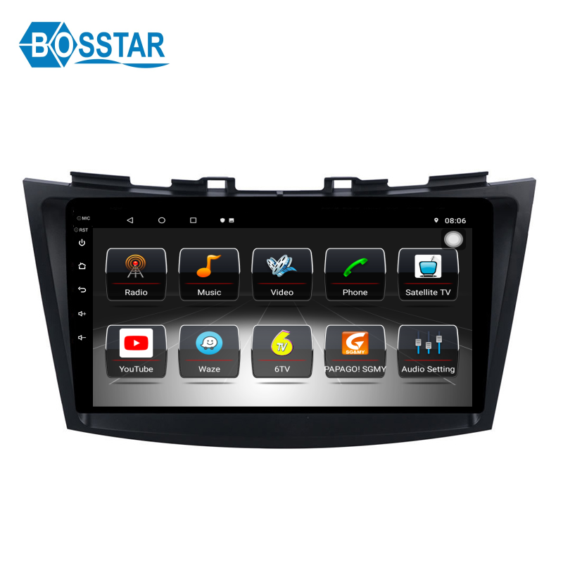 Android Car <span class=keywords><strong>DVD</strong></span> Radio reproductor Multimedia para Suzuki Swift 2012, 2013, 2014, 2015, 2016