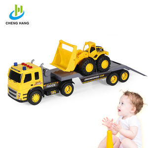 toy 2019 new kids toys construction truck mini semi trailer and bulldozer