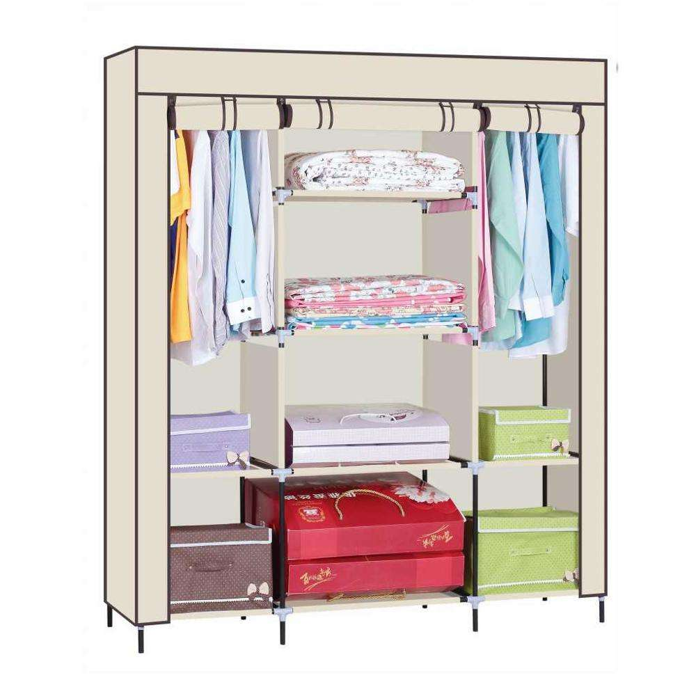 New 2020 Trending Cloth Closet Portable Storage Bedroom Furniture Wardrobe