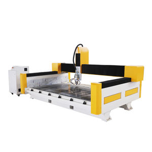 Stone 3D Engraving Machines / Stone Cnc Router Engraving Drilling Machine Granit