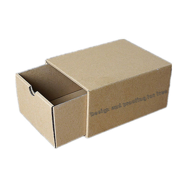 Custom Folding Corrugated Cardboard Small Drawer Carton Packaging Box