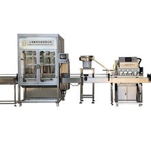 Automatic liquid bottle yogurt filling sealing machine