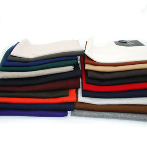 Wholesale woven fabric wool solid color woolen fabric cloth for overcoat