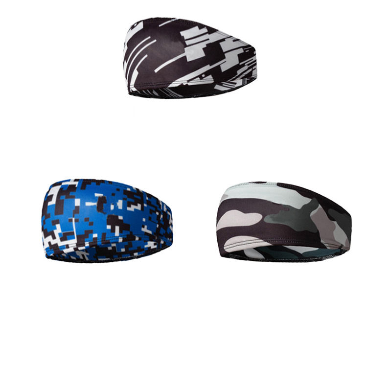 Giftline Outdoor Headband Sport Sweat Belt Running Head Sweat Bands