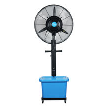 Outdoor waterproof portable water spray air cooling mist fan