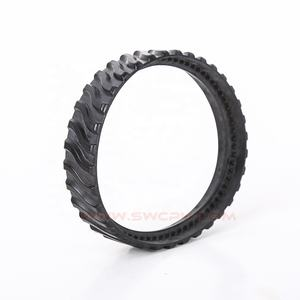Molded / casted urethane mini rubber atv track for excavator car