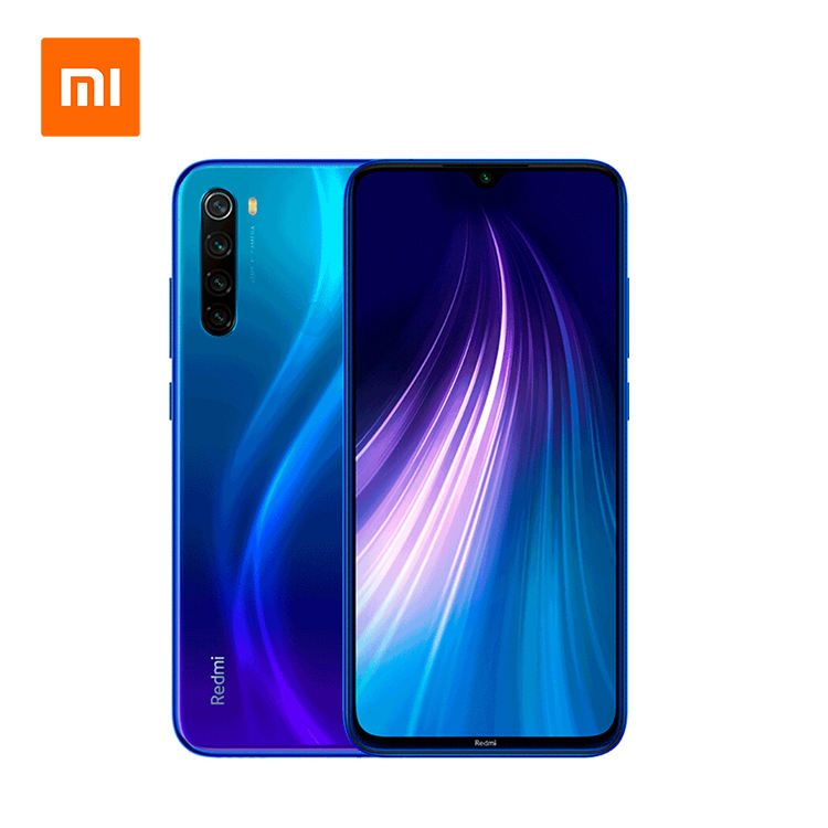 Hot Xiaomi Redmi Note 8 EU Global Version Unlocked 64GB 4GB RAM Dual Sim 4G Smartphone Mi Note 10 Lite 9 Pro 9S Mobile Phones