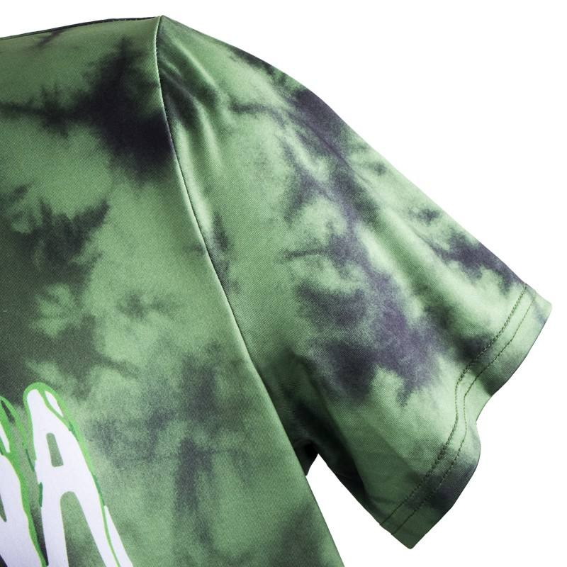 support sample sublimation hip-pop o neck t shirt camouflage tshirt plain t shirts for printing