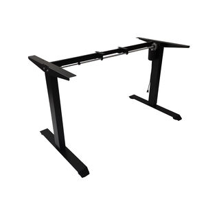 Single Motor Ergonomic DESK  Electric Standing Desk Frame  Height Adjustable Desk frame sit stand up frame for office furniture