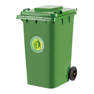 dustbin120l Custom plastic dustbin  outdoor dustbin plastic sale price