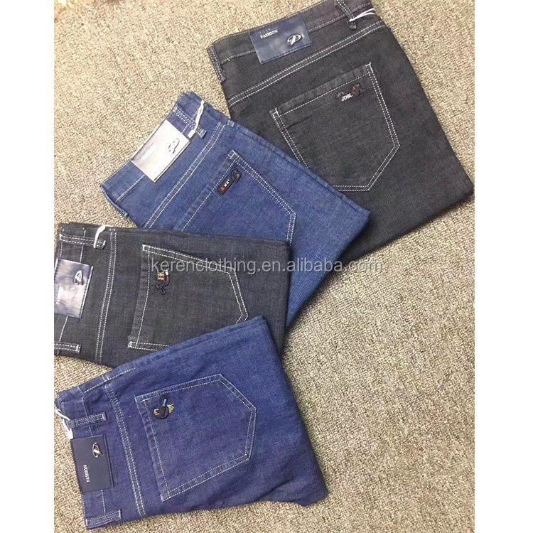 Clothing Stock Lots Adult Denim Blue Jean