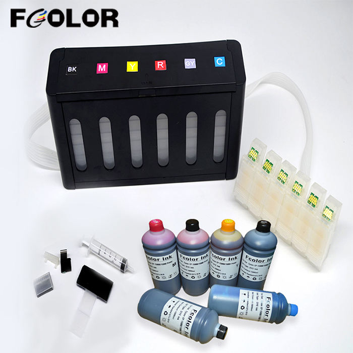 Empty Continuous Ink Supply System With Permanent Chip And 1L Dye Inks For Epson XP-15000 CISS