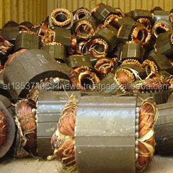 Electric Motor Scrap / Car Alternator Scrap / Car Starters scrap Available