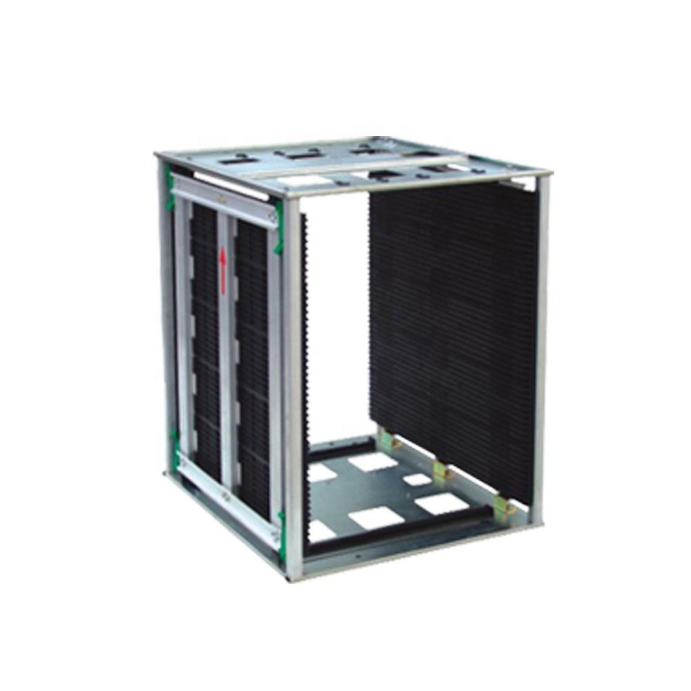 SMT Suitable Antistatic PCB Storage Rack ESD Magazine Rack