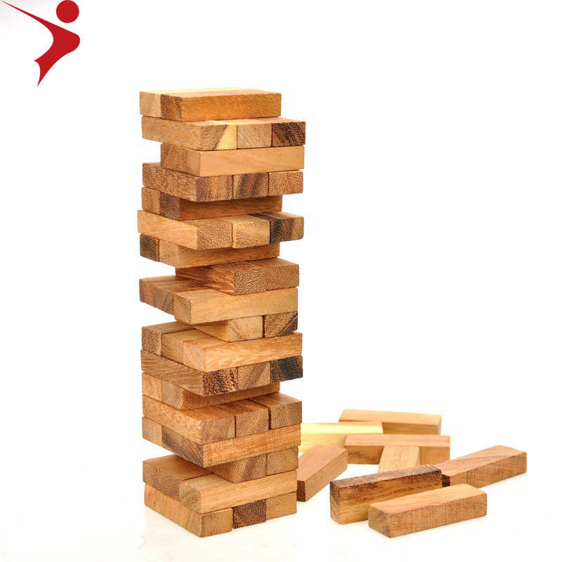 New adult puzzles board games party toys stacked high smoking bar blocks wooden crafts classic game giant jenga