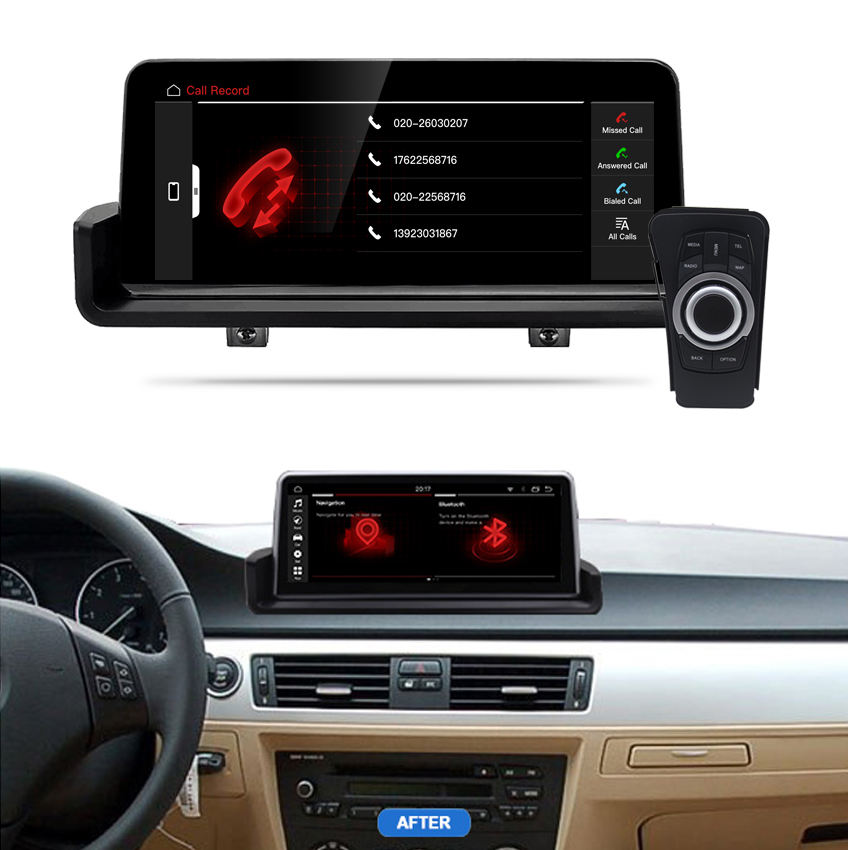 KANOR 10,25 android 8core 4 + 32g auto interface multimedia gps navi für bmw 3 serie e90 e91 e92 2006-2012