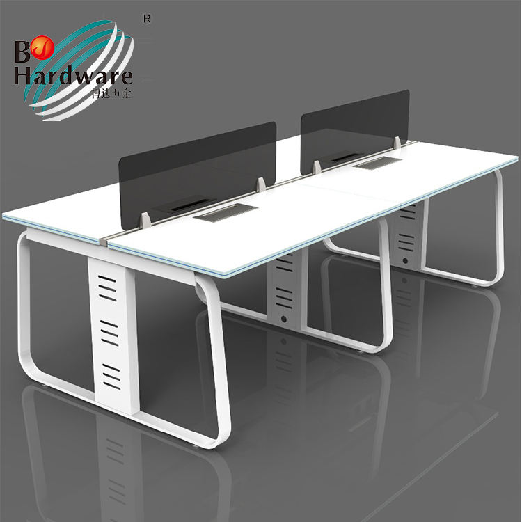 Moderne Executive Bureau Luxe Kantoormeubilair L Vorm Executive Workstation Bureau