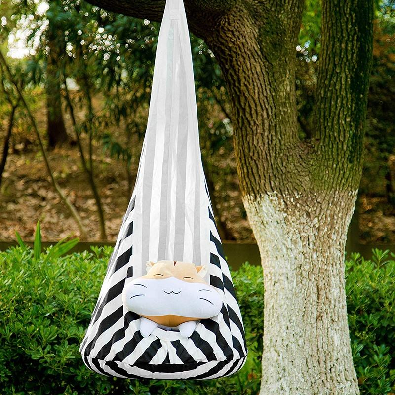 Indoor Outdoor Hanging Baby Swing Children Inflatable Hammock Kids Pod Swings